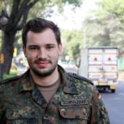 Oberfeldwebel Gideon Schmalzhaf (Foto: Bundeswehr / Claas Gärtner)